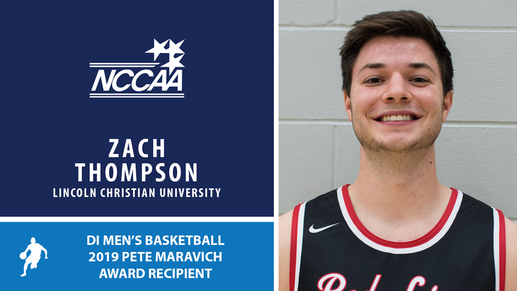 Zach Thompson Named 2019 DI Men's Basketball Pete Maravich Award Recipient
